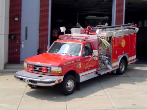 Eagle Matt Lee Fire Co. No. 1 - F-135 Brush Hog II
